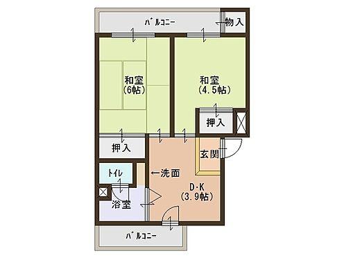 マンション(建物一部)-堺市堺区今池町6丁 間取り