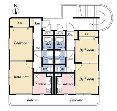 一棟マンション-名古屋市南区上浜町 令和1年7月末日大規模修繕実施。満室稼働中