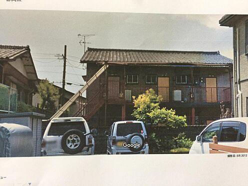 アパート-磐田市西貝塚 北側(裏面)よりの状況