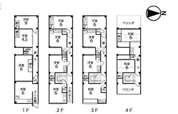 マンション(建物全部)-京都市下京区富松町 間取り