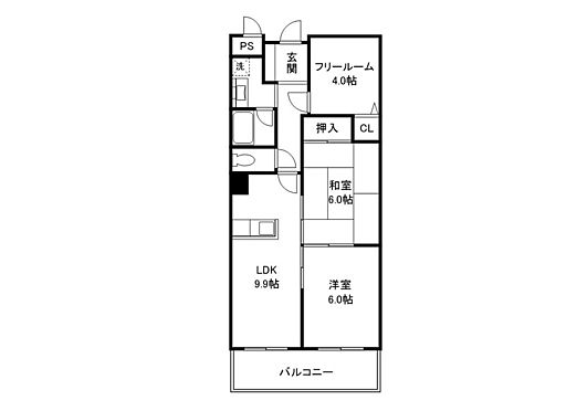 マンション(建物一部)-近江八幡市日吉野町 間取り