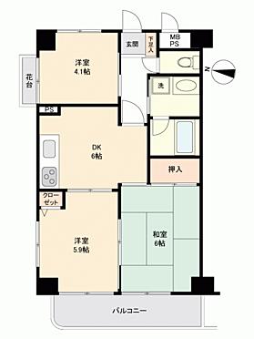 マンション(建物一部)-横須賀市富士見町3丁目 間取り