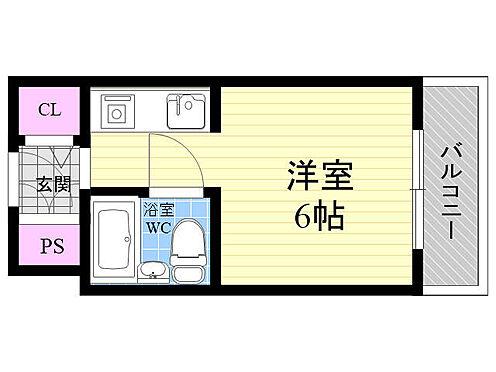 マンション(建物一部)-大阪市西区江之子島1丁目 間取り