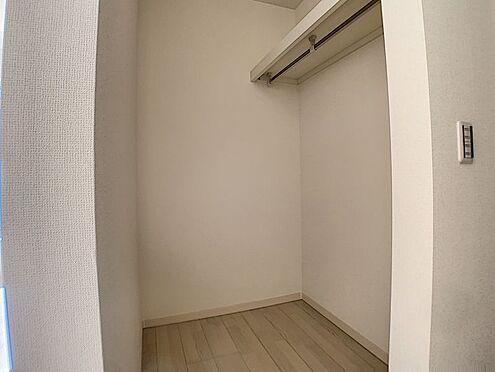 新築一戸建て-名古屋市守山区新守山 洋室にウォークインクローゼットが付いています!