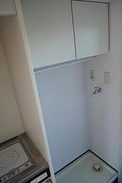 マンション(建物一部)-川崎市多摩区中野島6丁目 収納棚付きの室内洗濯機置場