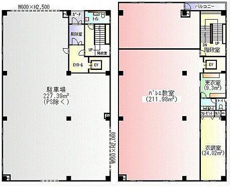 ビル(建物全部)-横浜市瀬谷区橋戸3丁目 1-2階間取り