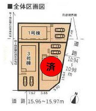 新築一戸建て-名古屋市名東区赤松台 並列駐車2台可能です!