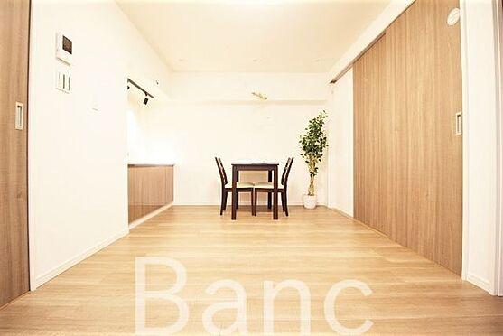 中古マンション-新宿区愛住町 リビングダイニングです。