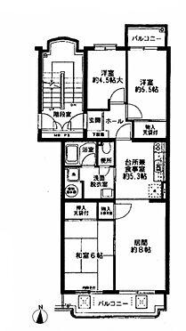 マンション(建物一部)-海老名市河原口4丁目 間取り