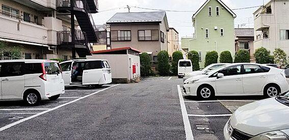 区分マンション-草加市新善町 駐車場