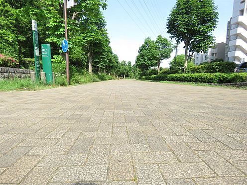 中古マンション-八王子市上柚木3丁目 駅までの遊歩道