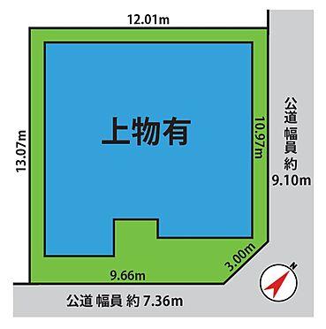 建物全部その他-葛飾区細田4丁目 配置図