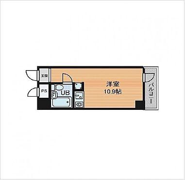 マンション(建物一部)-大阪市北区与力町 間取り