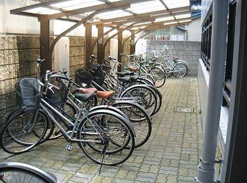 マンション(建物一部)-大阪市住吉区長居西3丁目 屋根付きの駐輪スペース
