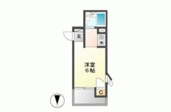 マンション(建物一部)-名古屋市名東区名東本通 間取り
