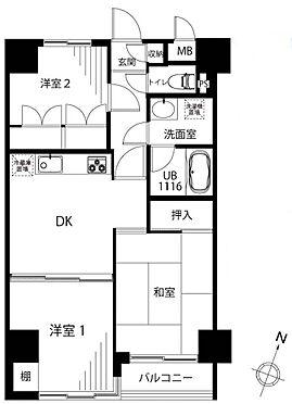 マンション(建物一部)-板橋区板橋2丁目 間取り
