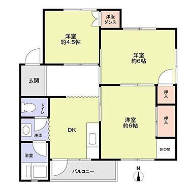 マンション(建物一部)-神戸市垂水区泉が丘1丁目 全居室に収納スペース有り