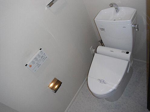 区分マンション-大阪市中央区北浜東 トイレ