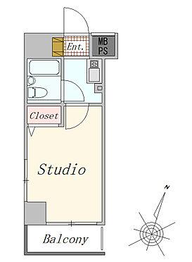 マンション(建物一部)-横浜市南区真金町1丁目 1K 16.38平米