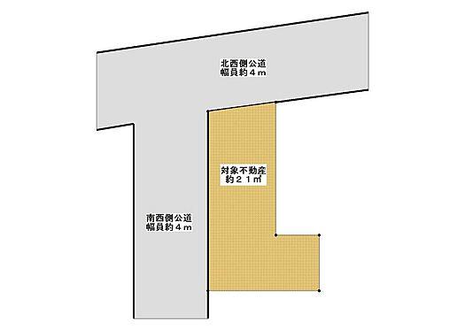 土地-板橋区西台2丁目 区画図