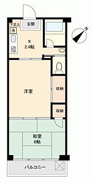 マンション(建物一部)-座間市相模が丘1丁目 間取り