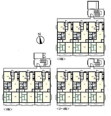 マンション(建物全部)-川崎市宮前区平1丁目 間取り