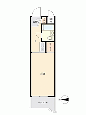 マンション(建物一部)-西東京市向台町1丁目 間取り