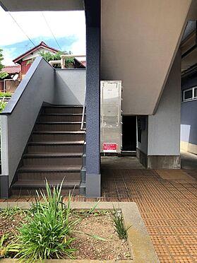 中古マンション-草加市八幡町 外階段