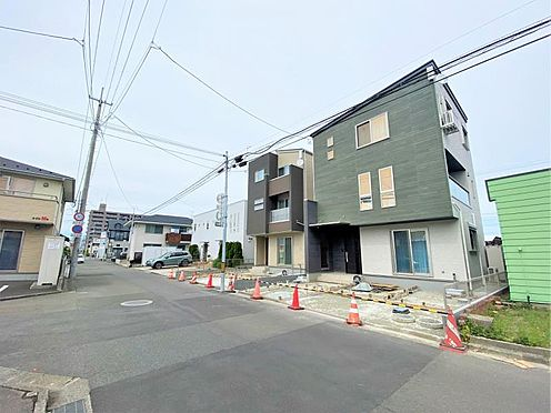 新築一戸建て-仙台市若林区六丁の目中町 外観