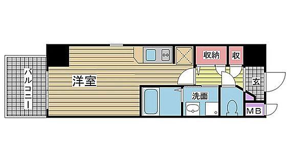 マンション(建物一部)-神戸市中央区中山手通7丁目 3点セパレートで清潔感あり。