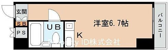 マンション(建物一部)-大阪市東成区東中本1丁目 間取り