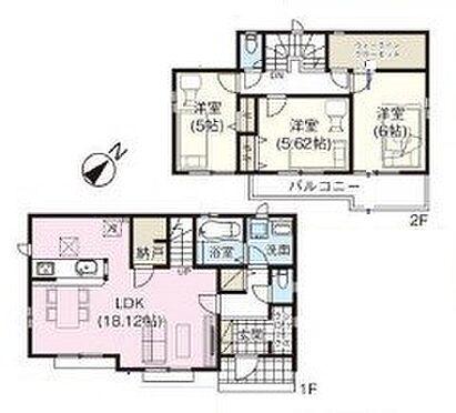 新築一戸建て-新座市大和田1丁目 6号棟
