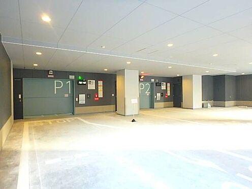 区分マンション-宇都宮市馬場通り3丁目 ■ 駐車場 ■機械式立体駐車場を備えています。空き状況は別途お問い合わせください。※写真は空室時のものです