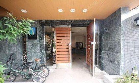 マンション(建物一部)-大阪市北区天神橋7丁目 シックな印象のエントランス