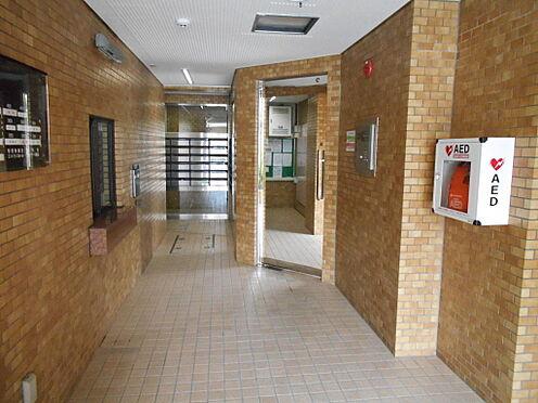 マンション(建物一部)-川崎市中原区井田三舞町 エントランスホールの様子。管理が行き届いており大変きれいです。