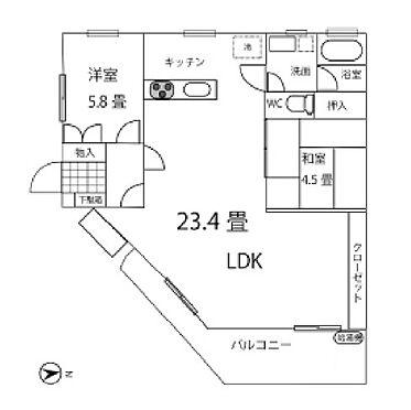 区分マンション-神戸市垂水区西舞子6丁目 東南角部屋で日当たり良好