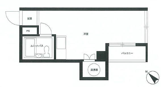 マンション(建物一部)-渋谷区富ヶ谷1丁目 間取り