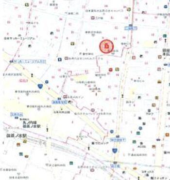 ビル(建物全部)-文京区湯島3丁目 地図