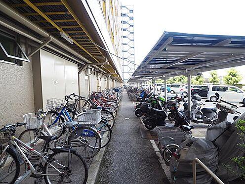 区分マンション-千葉市美浜区稲毛海岸4丁目 自転車置き場は安心の平置き!