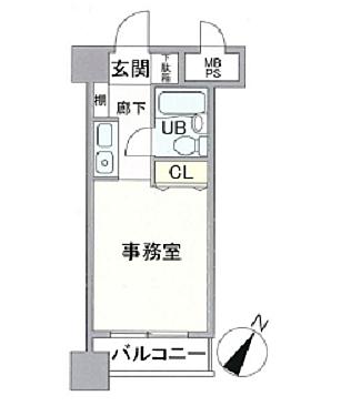 マンション(建物一部)-横浜市中区寿町1丁目 間取り