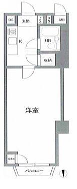マンション(建物一部)-大阪市淀川区西中島6丁目 事務所使用可能なワンルーム