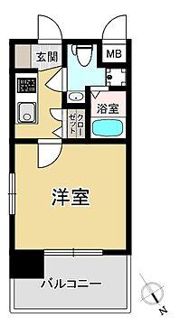 マンション(建物一部)-福岡市中央区長浜3丁目 間取り