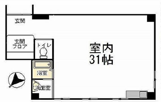 事務所(建物一部)-横浜市南区吉野町3丁目 間取り