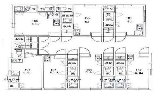 アパート-大田区大森北6丁目 Ohmori Apartment・ライズプランニング