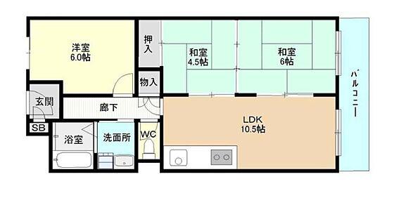 マンション(建物一部)-神戸市須磨区白川台3丁目 二間続きの和室のある3LDK