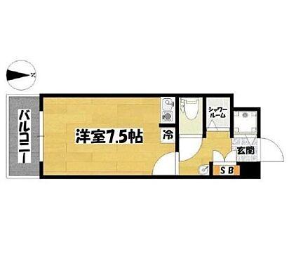 マンション(建物一部)-京都市中京区西ノ京職司町 間取り