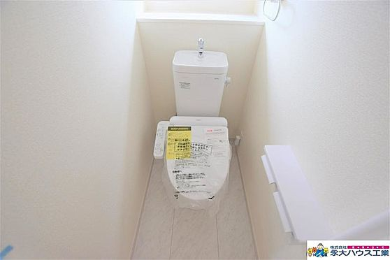 新築一戸建て-仙台市青葉区水の森2丁目 トイレ