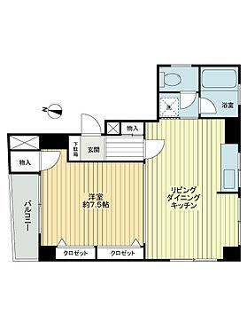 中古マンション-江東区永代2丁目 間取り
