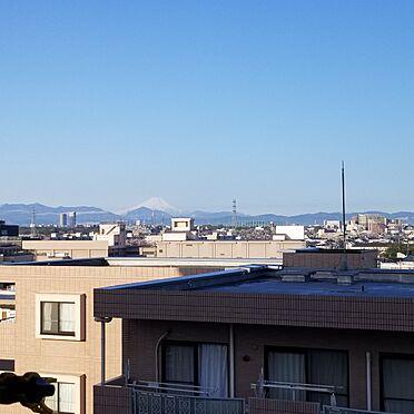 中古マンション-西東京市田無町6丁目 晴れた日にはバルコニーから富士山が望めます(天候によります)