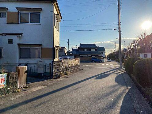 土地-春日井市東野町3丁目 西側前面道路に約5.8m接道